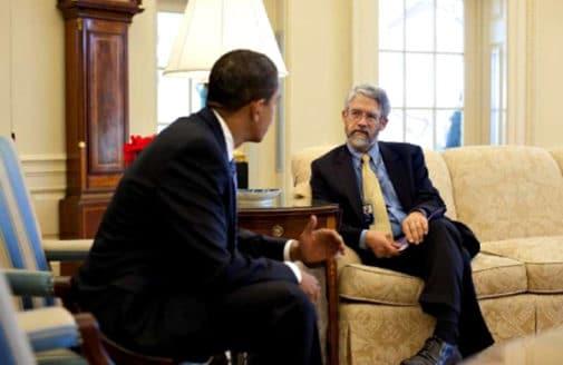 John Holdren in the White House