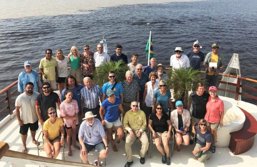 Global Rivers Observatory trip group photo