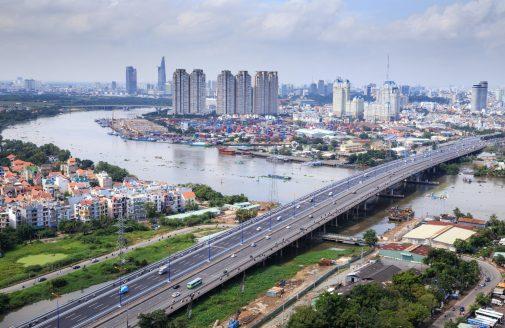 Skyline photo of Hồ Chí Minh, Viet Nam