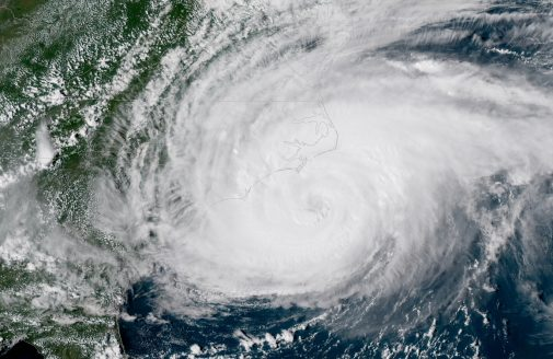 Hurricane Florence landfall