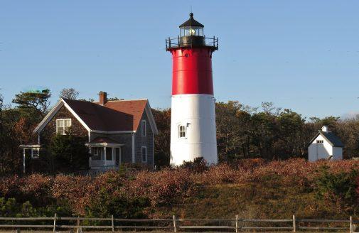 Nobska Lighthouse in Falmouth, Massachusetts