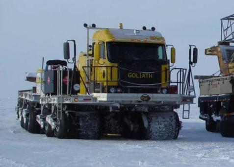 Seismic survey vehicle
