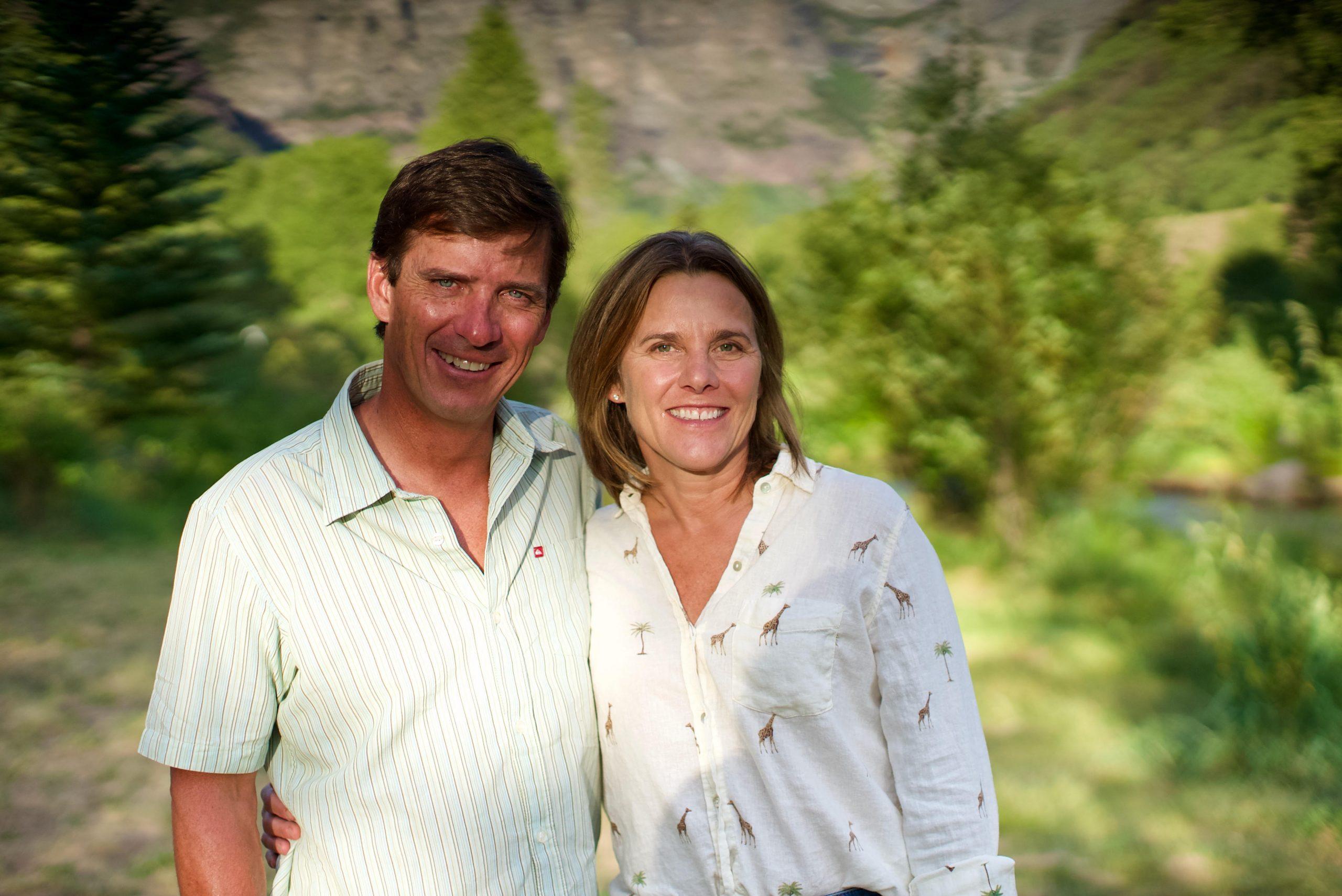 Stuart and Joanna Brown