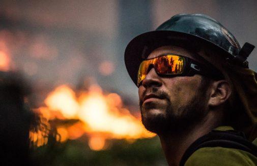firefighter fire Oregon