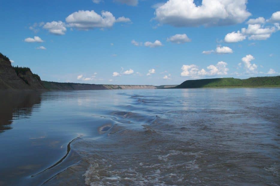 Mackenzie River in Canada