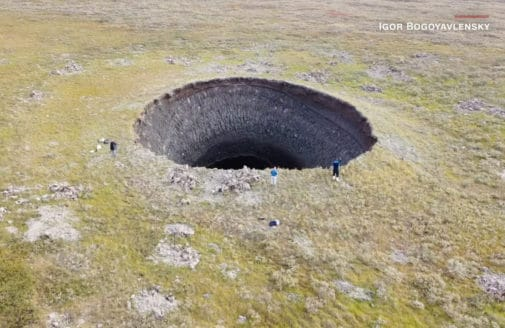 crater video by Igor Bogoyavlensky