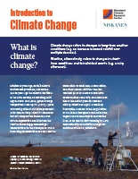 Introduction to Climate Change pdf cover