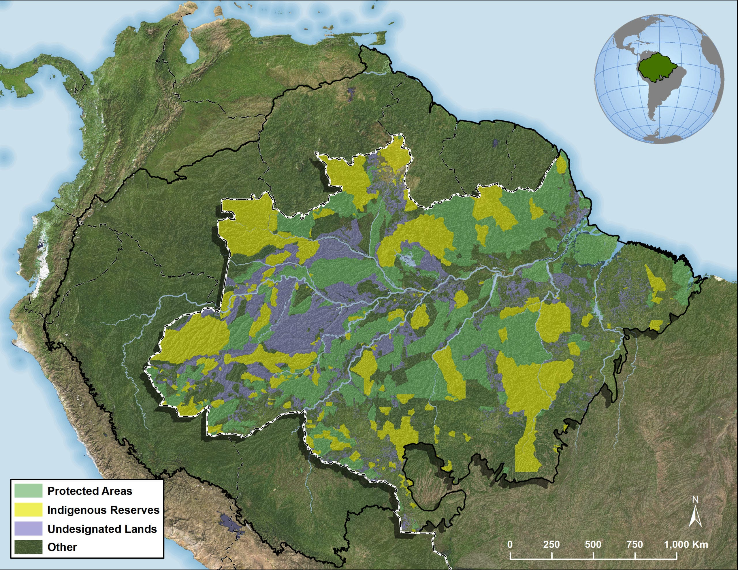 Losses in aboveground carbon (MtC) from 2003-2016 in the Brazil Amazon