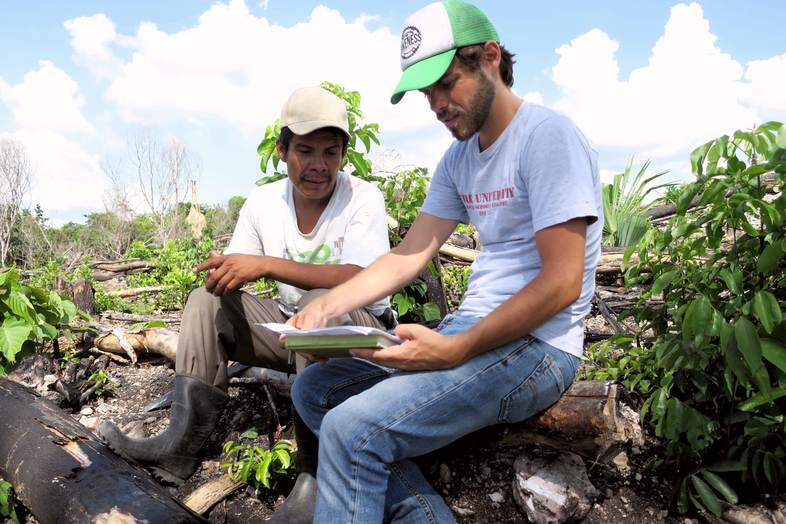 carlos dobler conducting field interviews