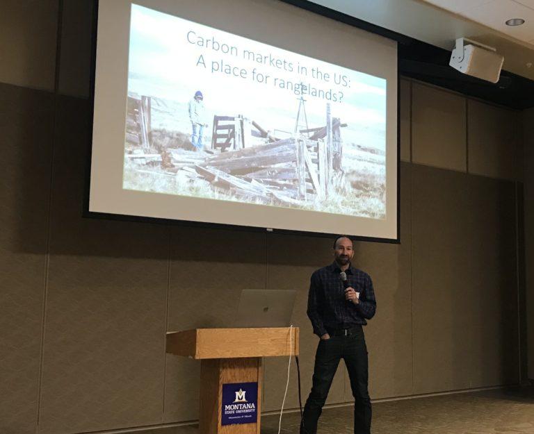 Dr. Jon Sanderman presents on carbon